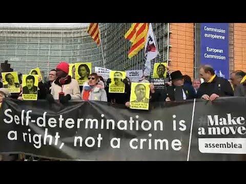 O αντίκτυπος της δίκης των αποσχιστών στις Βρυξέλλες