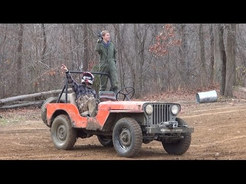 Tribute to the Abused Willys Jeep