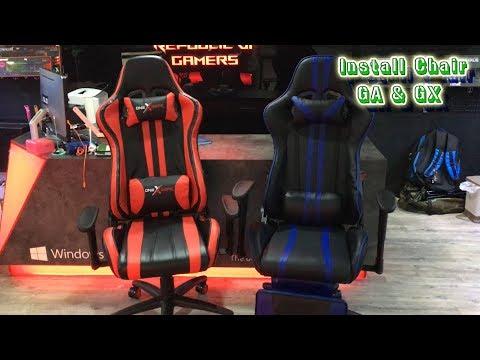 Installing Gaming Chair GA & GX