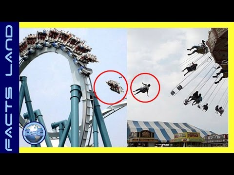 7 Most deadly  theme park accidents caught on camera from around the world