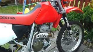 9. Honda XR 400 R4,XR400,XR 400,XR 400R Cold Start,Starting