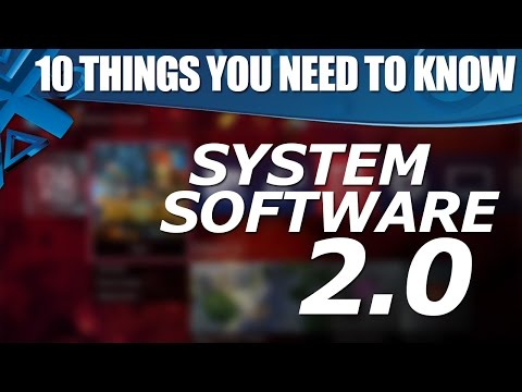 2.0 - PS4 gains a wealth of new features in system software update 2.0. Here are 10 key things you need to know about it! PlayStation Access TV brings you the latest UK PS3, PS4 and PSVita news,...
