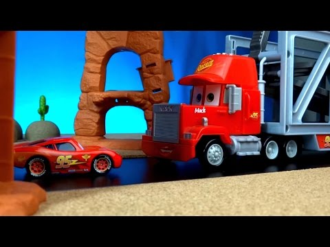 Video Disney Pixar Cars Toys Meet Planes Movie  The Smokejumpers Lightning Mcqueen Crashes