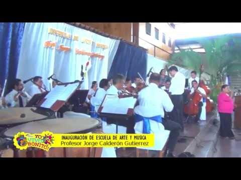 Inauguración escuela de arte y música Ocotal Nueva Segovia
