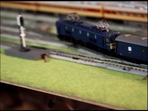 Nゲージ鉄道模型・猫山鉄道 EF58牽引10系寝台急行