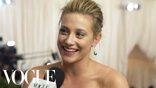 Nonton Lili Reinhart On What She Expects From Her First Met Gala   Met Gala 2018 With Liza Koshy   Vogue Film Subtitle Indonesia Streaming Movie Download