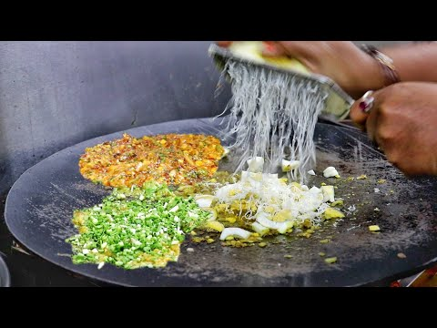 Hardworking Lady Selling 6 Layer Omelette Hungama Dish | Egg Street Food | Indian Street Food