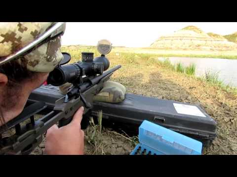 Sniper - Sighting in made easy! Time to make sure everyone is zeroed! Don't be scared - just watch this video. This video is intended for those who have watched the p...