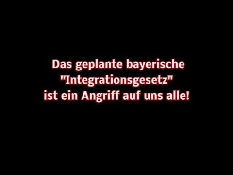 Veranstaltung zum Bayerischen »Integrationsgesetz« (1. Teil)