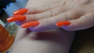 Long Nails Polish With Magic Thermo Polish
