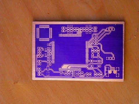 Изготовление печатной платы в домашних условиях с помощью фоторезиста