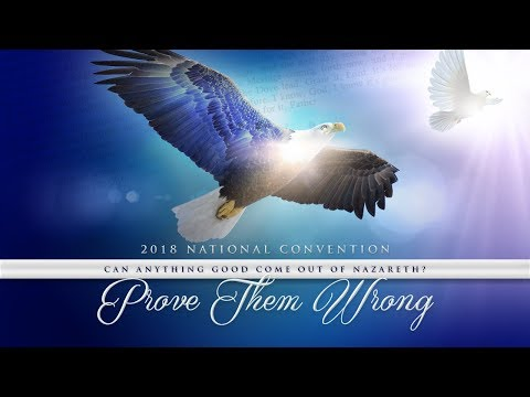 2018 National Convention - Monday 13 August (Morning Main Service) (видео)