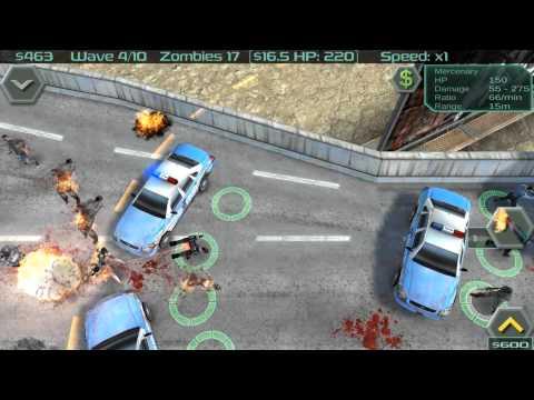 Video of Zombie Defense
