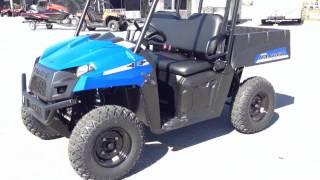6. 2013 Polaris Ranger EV in Blue at Tommy's MotorSports