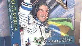 Bauru: exposição retrata a vida pessoal e a carreira do astronauta Marcos Pontes