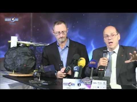 Conférence de presse du CNES sur Philae