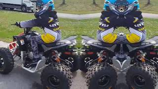 2. 2019 CAN-AM DS-X 90 with Samuel & Rem