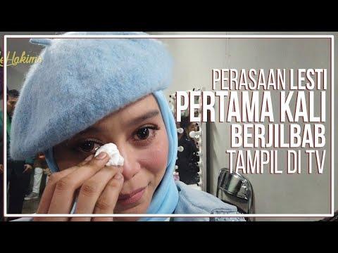 Perasaan Lesty, PERTAMA KALI berjilbab tampil di TV