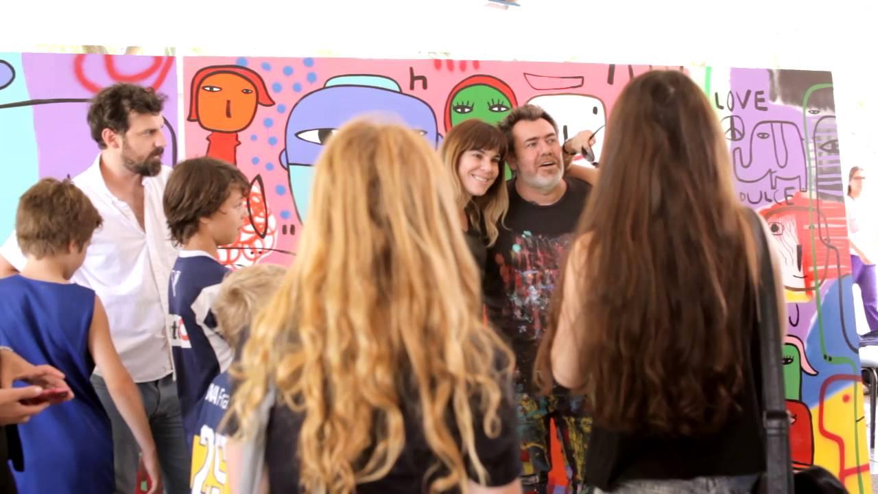 Milo Lockett: Murales en Hacoaj