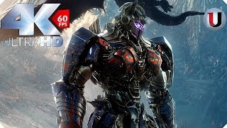 Transformers 5 The Last Knight Final Battle Autobots vs Decepticons & Quintessa (4K)