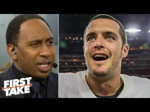 'Let's give some love to Derek Carr' – Stephen A. says the Raiders are an AFC threat   First Take
