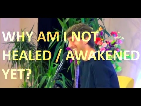 Jeff Foster Video: Why Haven't My Feelings Healed Yet?