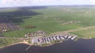 Bunschoten-Spakenburg en Eemdijk vanuit de lucht
