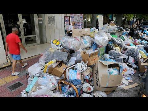 Αποπνικτική η ατμόσφαιρα από τα σκουπίδια – Σήμερα η απόφαση των εργαζομένων για το μέλλον των…