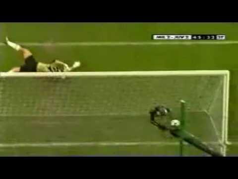 Gol de Conte ante el Milan