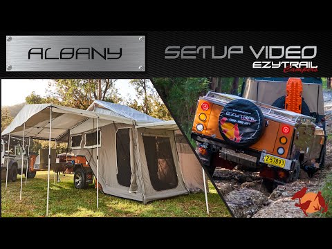 Ezytrail Campers Albany GT Setup Guide