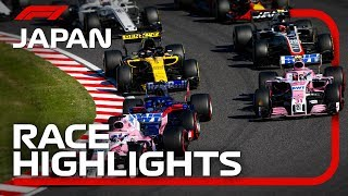 2018 Japanese Grand Prix: Race Highlights