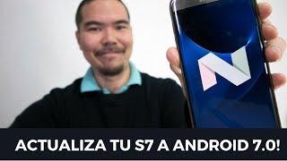 """Tienes un S7 o S7 Edge (modelo SM-G935F / SM-G930F) que todavía sigue en Android 6.0? Hoy, descubre CÓMO PUEDES FORZAR LA ACTUALIZACIÓN!El post con más detalles: https://www.arturogoga.com/actualizar-galaxy-s7-a-android-7/suscríbete: http://agoga.me/agsubGadgets que uso:Passport Sling III - http://amzn.to/2rthNTNCámara Canon 70D - http://amzn.to/2smYRWuLente 10-18mm - http://amzn.to/2smTK95Micrófono Takstar SGC-598 - http://amzn.to/2rA6jQ7Trípode - Manfroto Pixi Evo 2 Section - http://amzn.to/2qJccY9RX100 III  - http://amzn.to/2qJaNRi (modelo nuevo - http://amzn.to/2rAalrQ)Pistol Grip  - http://amzn.to/2rtcZh2Batería Aukey 16,000 - http://amzn.to/2qP2navCargador USB 70D - http://amzn.to/2qJfCu1Cargador USB RX100 - http://amzn.to/2rAlvNbLG 360 Cam - http://amzn.to/2qPmtREiPad Pro 9.7"""" 256 GB - http://amzn.to/2qIXnVtSmart Keyboard - http://amzn.to/2rAjsbU→ BLOG: https://arturogoga.com→ Youtube: http://agoga.me/agsub→ Facebook: https://facebook.com/arturogogacom→ Twitter: https://twitter.com/arturogoga"""