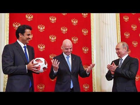 Μουντιάλ: Τη «σκυτάλη» στο Κατάρ παρέδωσε η Ρωσία