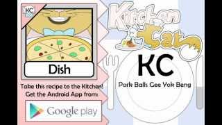 KC Pork Balls Gee Yok Beng YouTube video