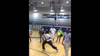 Brooks College Prep 2013 student vs staff game ended with the students winner.... and after a dunk off was held check it out!