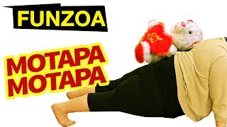 "MOTAPA MOTAPA- Funzoa Video, Funny Song On Weight Loss, Gymming & Boy Weight Problems. A Mimi Teddy Video. Perfect song for all your fat and plump friends and fat family members struggling with fat loss and body weight problems forever. Gym workouts proving useles, so is dieting, spa, massage and all other hassles everyone goes through in order to lose weight and stay in shape. Share this song now and have fun. Video produced, created, written by Krsna Solohttp://youtube.com/KrsnaSolohttp://facebook.com/KrsnaSoloMusic Programmer : Rajat GoddeDownload funzoa videos at http://goo.gl/Z6GuXhSubscribe on Youtube http://goo.gl/xCrXhUFacebook http://facebook.com/FunzoaTwitter http://twitter.com/FunzoaWebsite http://Funzoa.com email : funzoa@gmail.comMimi Teddy Fanpage https://www.facebook.com/MimiTeddyBojo Teddy Fanpage https://www.facebook.com/BojoTeddyJunu Teddy Fanpage https://www.facebook.com/JunuTeddyDumblu Fanpage https://www.facebook.com/DumbluSUBSCRIBE ON YOUTUBE CHANNELhttp://goo.gl/xCrXhUDAILYMOTION CHANNEL FOR NON-YOUTUBE ZONEShttp://www.dailymotion.com/funzoaplease aap वज़न घटाएं.Many of us spend years and years trying to get rid of extra body fat with little or no success. We yo-yo and ride the diet rollercoaster, with too much ""roll"" along the way. We attack our fat when motivation is high, but we still crumble at the sight of warm cookies. Unfortunately, this stilted progress results in many unfinished New Year's resolutions and dissatisfied gym clients. Fat loss might be the most common fitness goal, but it's definitely no easy task to achieve.If you've been playing the fat-burning fight for a long time and have yet to win a round, it's probably because you're making one or more of the mistakes below. I'll help you avoid these common fat-loss slip-ups so you can get back in the game!With our intense focus on macronutrients, dieting and processed food consumption over the past 30 years, body fat levels have also increased. In other words, more information, more dieting, more junk food has given us more fat.What is fat loss?We store fat in adipose tissue in our bodies — mostly under the skin (subcutaneous) or in the body cavity (visceral), with a small amount in our muscles (intramuscular). Body fat is an energy storage depot.When the substances providing energy become sparse in your bloodstream, the body detects this and calls on fat reserves for backup.Fat storage and energyFats are stored as triglycerides in fat cells and are released via the activity of an enzyme known as hormone-sensitive lipase (HSL). This allows fatty acids to enter the blood, where they circulate bound to a protein called albumin and enter muscles to be ""burned."" ""Burning"" of fat is also known as beta-oxidation.Tissues can break down fatty acids by way of this beta-oxidation. The process of beta-oxidation ultimately produces ATP, which is the energy source for cells. This takes place in the mitochondria. Fatty acids enter the mitochondria via carnitine.When high amounts of fatty acids are being broken down and flood the mitochondria (as in starvation), there may be no immediate need for them. In this case, they form energy-rich fragments known as ketones. This is important, as fat cannot be converted into glucose, but it can provide fuel for the muscle and brain in the form of these ketones.catabolism flowchartATP produced from the breakdown of fat is used for metabolic processes in the body including breathing, body temperature regulation, digestion, and excretion. At rest and very low intensity exercise, we get approximately 70% of the ATP produced from fats.With our focus on specific nutrients, intense nutrition counseling, dieting and processed food consumption over the past 30 years, body fat levels have also increased. In other words, more information, more dieting, more junk food has given us more fat.While some of this may seem counter-intuitive, it illustrates the importance of body awareness (hunger/satiety cues), avoidance of processed foods, regular physical activity and influential food advertising.This song video's copyright and publishing rights are reserved with Funzoa Funny Videos, 2017. Any attempt to copy or republish it will be considered legally offensive."