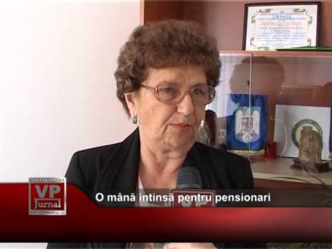 O mână întinsă pentru pensionari