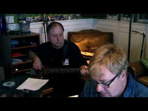 Producer Michael Behm with Bass God Scott MacLeod!!!