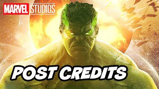 Avengers Endgame Post Credit Scene - Hulk Scene Re Release Breakdown