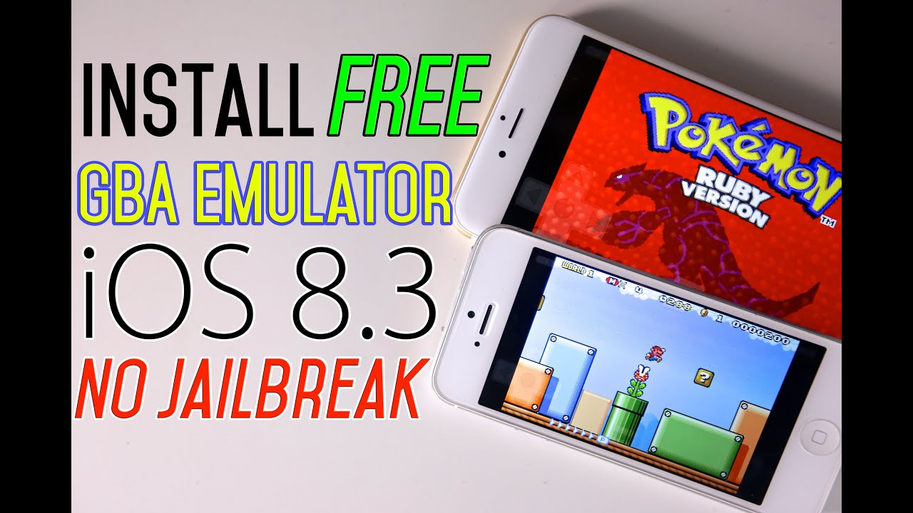 How To Install GBA Emulator FREE iOS 8.3 & 8.2 + Games NO Jailbreak