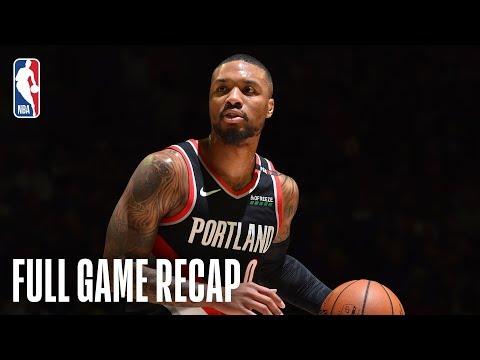Video: TRAIL BLAZERS vs 76ERS | Damian Lillard & Jusuf Nurkic Lead Blazers Past Sixers | February 23, 2019