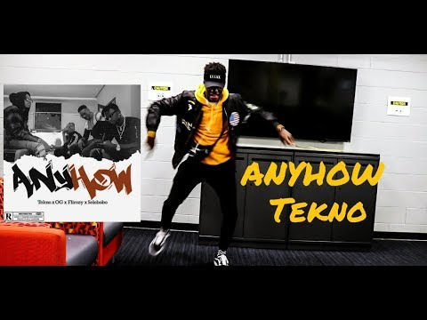 Tekno - Anyhow (Official Dance Video)