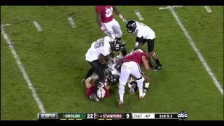 Andrew Luck vs Oregon 2011