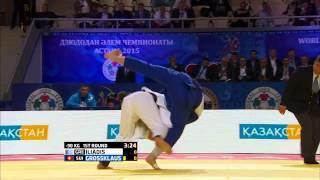 Ilias Iliadis (Greece) vs Ciril Grossklaus (Switzerland) World Judo Championships 2015 - AstanaJudo - 90kg