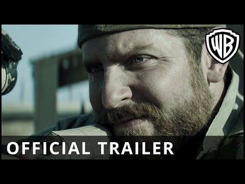 Sniper - The brand new trailer for AMERICAN SNIPER – In UK cinemas Jan 16th, 2015 - directed by Clint Eastwood and starring Bradley Cooper. Warner Bros. Pictures in a...