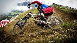 Downhill Mountain Bike Competition in South Africa