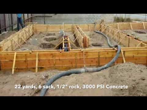 Concrete Stem Wall Foundation