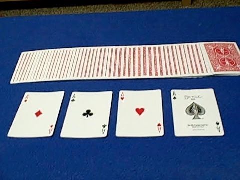 magical - This amazing card trick always gets great reactions! This is not a beginner trick because the sleights may be a little difficult. DECK GIVEAWAY- Please leave...