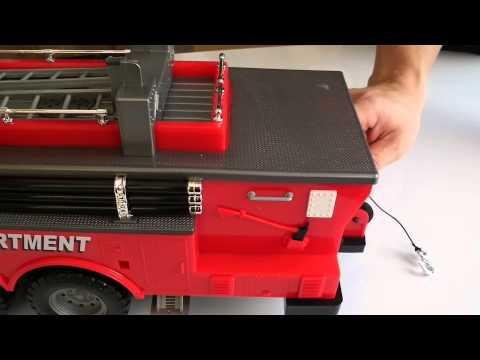 รถดับเพลิง - สุดยอดรถบังคับเสกล Hobby Engine FIRE ENGINE TRUCK รถดับเพลิง บังคับวิทยุ 1:18 === โทรสั่งซื้อได้ที่ 084-764-6457...