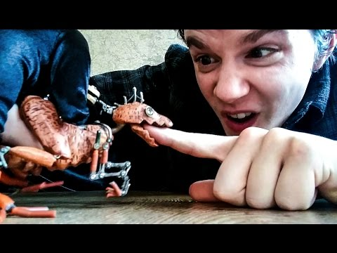 Puppet Maker Made A Mini Raptor Puppet